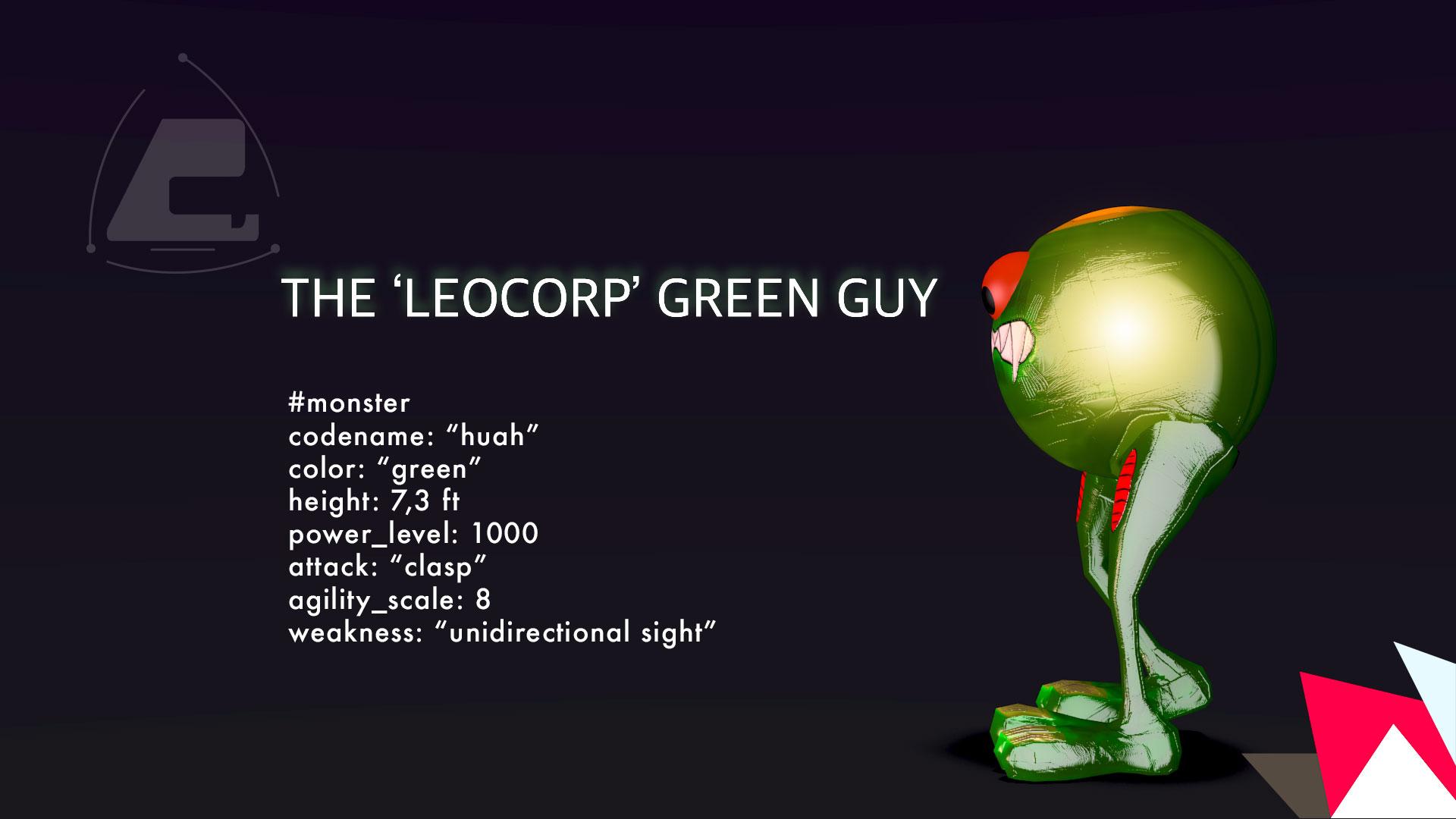 Grumpy Green